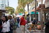 Las Olas II Art Festival-a busy venue on a picture perfect day.