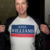 Senate candidate Kyle Williams campaign event at 10th & Piedmont.