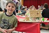 Brecknock Elementary School hosts their annual Gingerbread House making on Friday, Dec. 5. Pictured here is Johnny Werner, 6, Mohnton, who tapped into his Scouting skills to deck out his gingerbread house complete with a fire pit and walkway. Emily Thiel - 21st Century Media