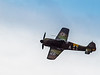 Focke-Wulf Fw-190 A-5 in flight during the Luftwaffe Fly Day at Paine Field Everett, WA on August 17, 2013.