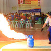 Fire Prevention Month - Proper way of extinguishing LPG tank fire