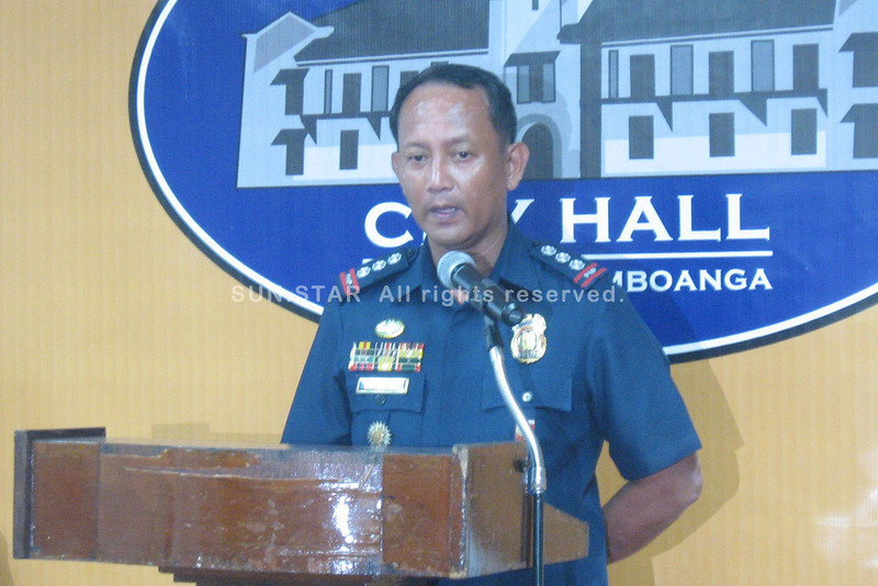 Zamboanga City police chief's announcement