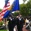 RUSSELL L. FRAYRE<br /> 7811  <br /> The Barnstable Police Department honor guard presents colors prior to The TD Bank Pops by the Sea concert  on the Hyannis Green.