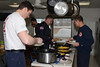 Marty Walker cooks breakfast for the Carol Stream Fire Department - March 2, 2014