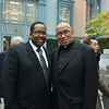 Imam W. Deen Mohammed II and Father George Clemons