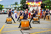 Dancers and drummers participate in the Obon Festival at the Ogden Buddhist Church on July 20, 2013. (ROBBY LLOYD/ Special to the Standard-Examiner)