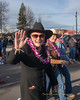 The Sisters Saddlebags, a longtime women's horseback riding group, paid tribute to the passing of founding member and Sisters community icon Lei Durdan during the 2013 Christmas Parade in Sisters, Oregon - Copyright © 2013 Gary N. Miller, Sisters Country Photography
