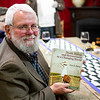 Alan Kemp celebrated the publication of his new book with champagne for all!