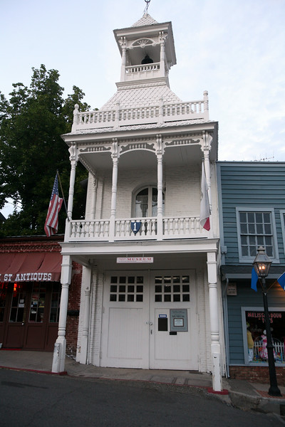 NEVADA CITY VINTAGE FIREHOUSE