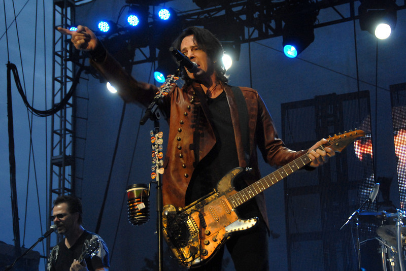Ribfest - Naperville, Illinois - July 3-7, 2013 - Main Stage - Rick Springfield