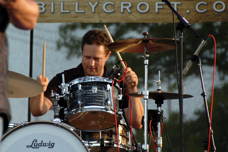 Ribfest - Naperville, Illinois - July 3-7, 2013 - Main Stage - Billy Croft & The 5 Alarm