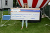 Ribfest - 2014 - Naperville, Illinois - Sponsored by the Exchange Club of Naperville - Check Presentation - Chrysler