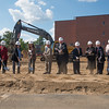 STEM Buidling groundbreaking at Westfield State University, Sept. 2014