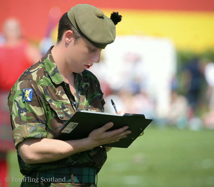 Judging the Pipebands