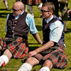 Pipers take a break