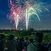 Crowds At The Matsudo Fireworks Festival