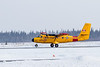 RCAF DHC-6 Twin Otter 803 landing at Moosonee.