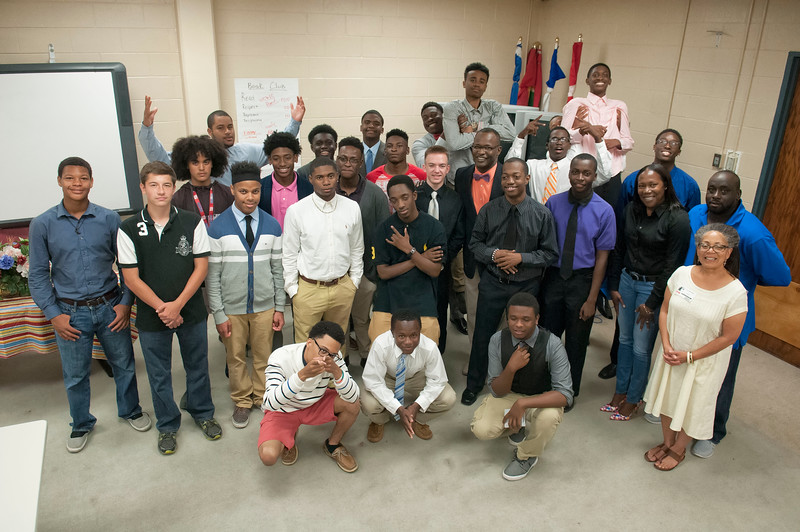 We Are The World Book Club Ceremony @ Olympic High School 5-22-15