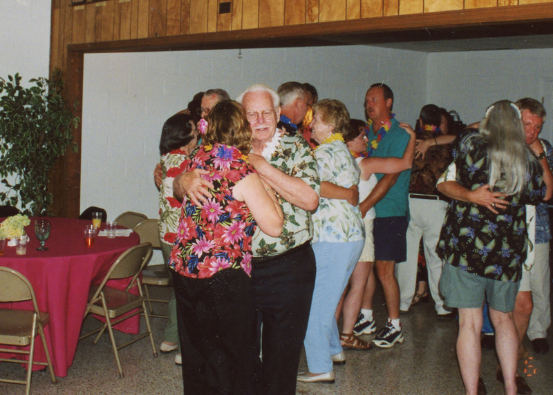 Ron & Kathy Dancing with Dad & Norma
