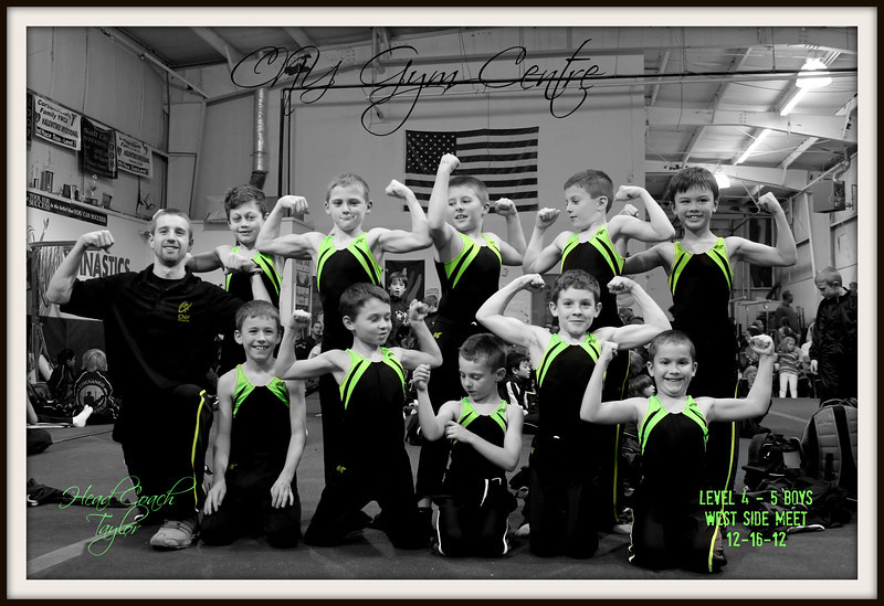 black and lime team pic