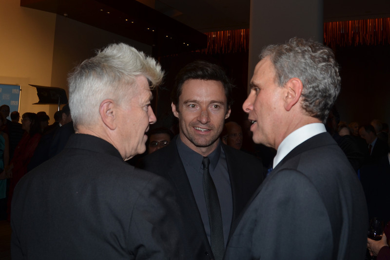 DSC_2254-David Lynch, Hugh Jackman, Bob Roth, Executive Director of the David Lynch