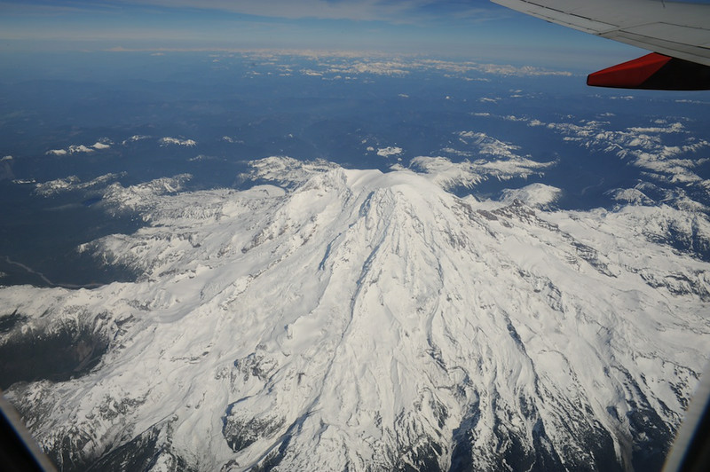 rainier from above