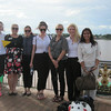 Newcastle Interns with Bee at the Mekong River, Nong Khai