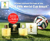 2014 FIFA WORLD CUP BRAZIL Eau de Toilette for Men - for Women 2014 Germany (half page, format 18 x 15 cm) 'Official Licensed Perfume of the - Die Offiziellen Düfte zur FIFA WM 2014'