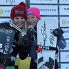 2013 FIS Snowboard World Championships - Parallel Slalom - Patrizia Kummer (SUI) and Amelie Kober (AUT) © FIS/Oliver Kraus