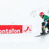 Markus Schairer (AUT) races to best time in time trials at Montafon  © FIS