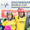 Montafon winners and World Cup leaders Eva Samková (CZE) and Markus Schairer (AUT)  © FIS
