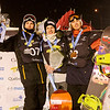 FIS Snowboard World Cup -Quebec City - BA - Jan 17, 2014  Podium with 2nd Mans Hedberg (SWE), 1st Petja Piiroinen (FIN) and Antoine Truchon (CAN)  © Renaud Philippe