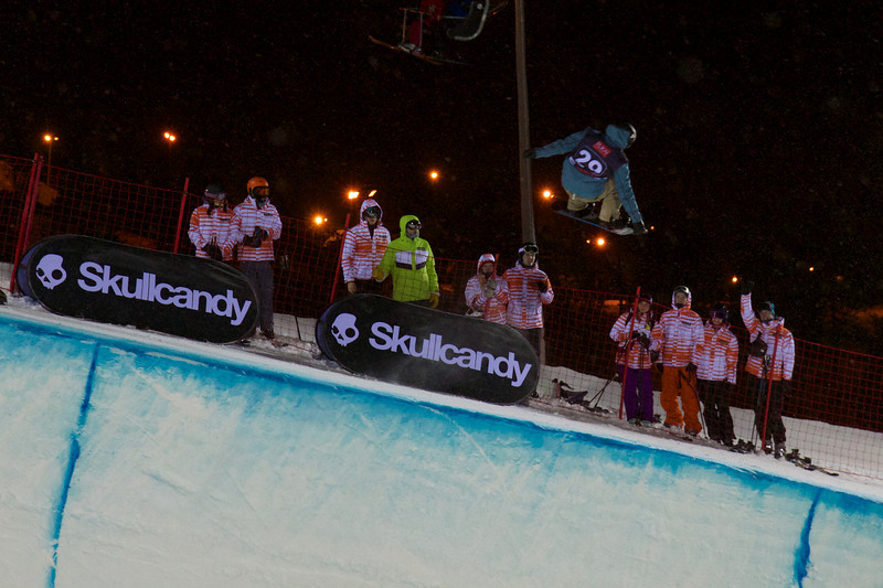Janne Korpi (FIN) competes at the Ruka Halfpipe World Cup  @ FIS
