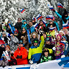FIS Snowboard World Cup - Rogla SLO  - Parallel Giant Slalom - PGS - Crowd © Miha Matavz