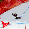 Simona Meiler (SUI) competes at FIS SBX World Cup La Molina qualifiers