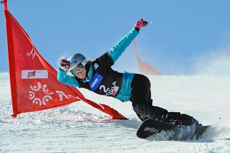 FIS Snowboard World Cup - Rogla SLO  - Parallel Giant Slalom - PGS - Kober Amelie GER © Miha Matavz