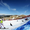 FIS Snowboard World Cup - La Molina SPA - SBX - Finals - Paul Berg (GER) in Red and Nikolay Olyunin (RUS) in Green  © Miha Matavz