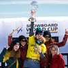 FIS Snowboard World Cup - La Molina SPA - SBX - Finals - Nations Cup ladies wins Canada  © Miha Matavz