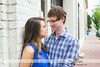 Downtown Raleigh Engagement - Britney & Thad - 0202