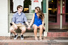 Downtown Raleigh Engagement - Britney & Thad - 0115