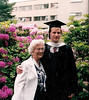 "Law scool graduation, with ""Nannie Flossie"""
