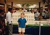 Andrew with Lego model of the US Capitol - (July 12, 1989 / Chesterfield Mall, Chesterfield, Saint Louis County, Missouri) -- Andrew