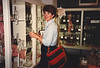 MaryAnne shopping in the Villeroy & Boch Factory Outlet - (May 29, 1989 / Mettlach, Landkreis Merzig-Wadern, Saarland, West Germany) -- MaryAnne