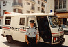 1st Police Encounter in Rouen during Sixth Grade field trip - (May 24,1989 / Rouen, Seine-Maritime département, Normandy, France) -- Police