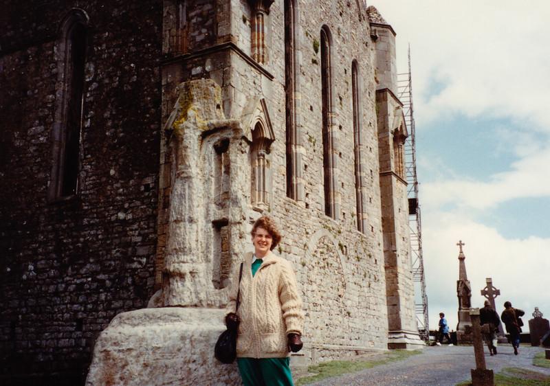 Cashel Monastery (April 16, 1990 / Cashel, County Tipperary, Ireland) -- MaryAnne