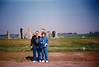 David & MaryAnne at Stonehenge (April 6, 1990 / Stonehenge, Amesbury, Wiltshire County, England, United Kingdom) -- David & MaryAnne