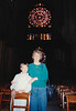 Andrew & MaryAnne in Cathédrale Notre Dame de Reims (April 6, 1990 / Cathédrale Notre Dame de Reims, Champagne-Ardenne région, Reims, France) -- Andrew & MaryAnne