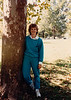 MaryAnne outside the Crowley house - (October 1, 1987 / Manteca Lane, Bridgeton, Saint Louis County, Missouri) -- MaryAnne