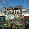 Stuyvesant Yacht Club after Sandy.