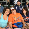 Detroit Tigers vs Cleveland Indians game, Sunday, 9-1-2013.